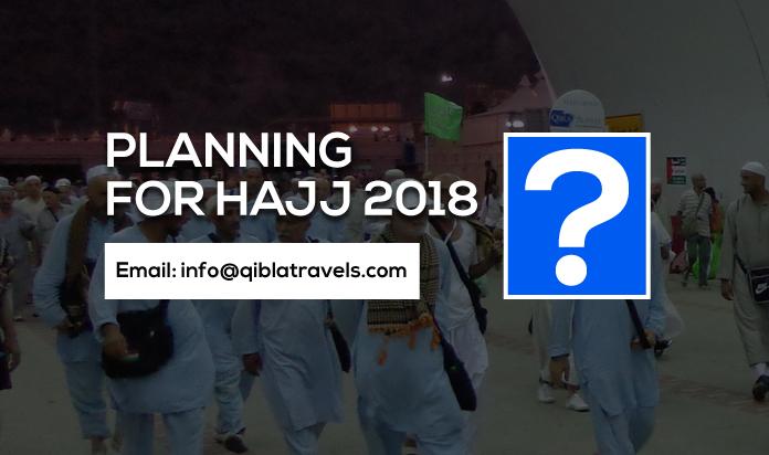 Planning for Hajj 2018