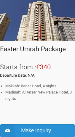 Easter umrah package