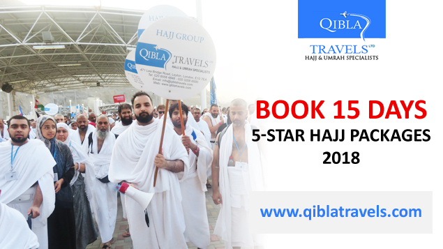 Book 5-star Hajj packages