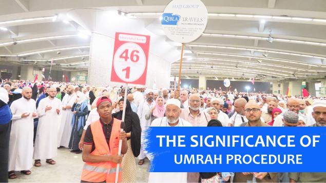 significance of Umrah procedure