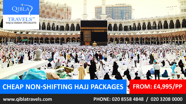 Cheap Non-Shifting Hajj Packages