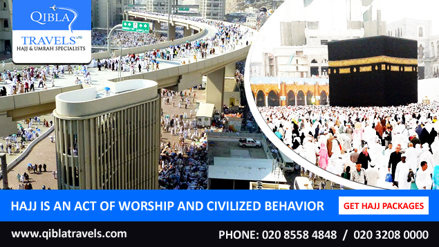 Hajj is an act of worship