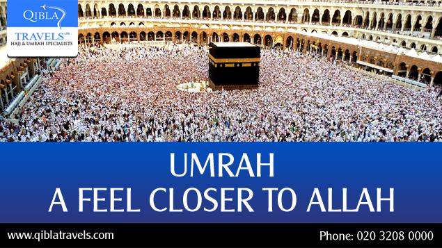 Umrah a feel closer to Allah