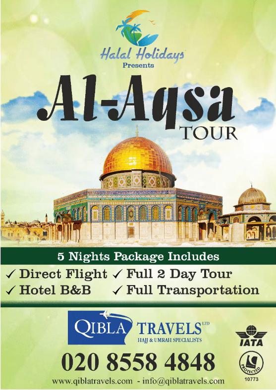 Aqsa Tour from UK