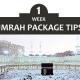 1 Week Umrah Package Tips