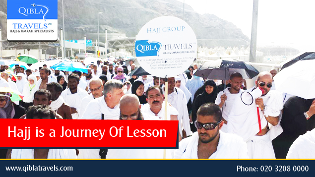 Hajj is a Journey Of Lesson
