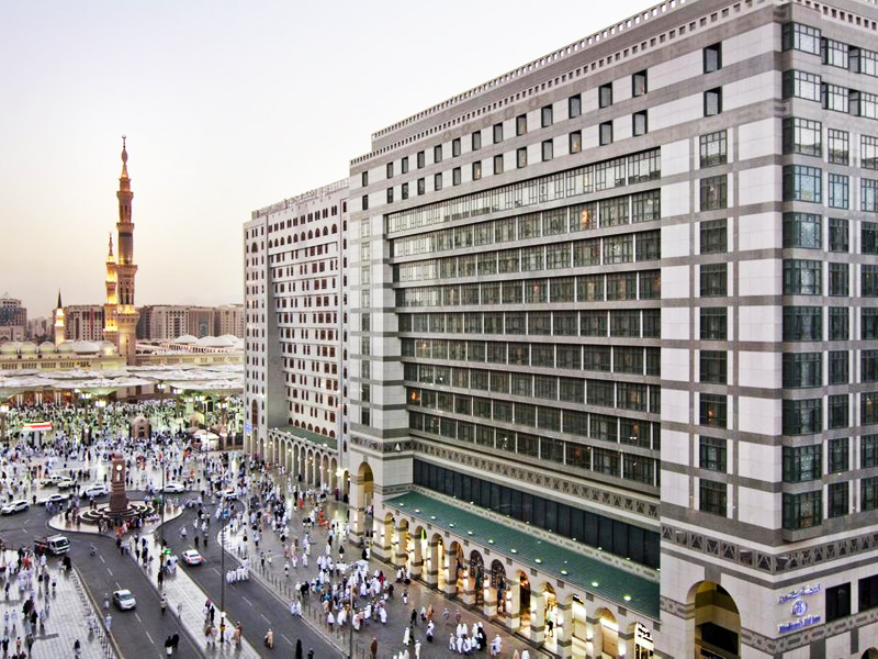 Deluxe Hajj Package with Hilton Madinah