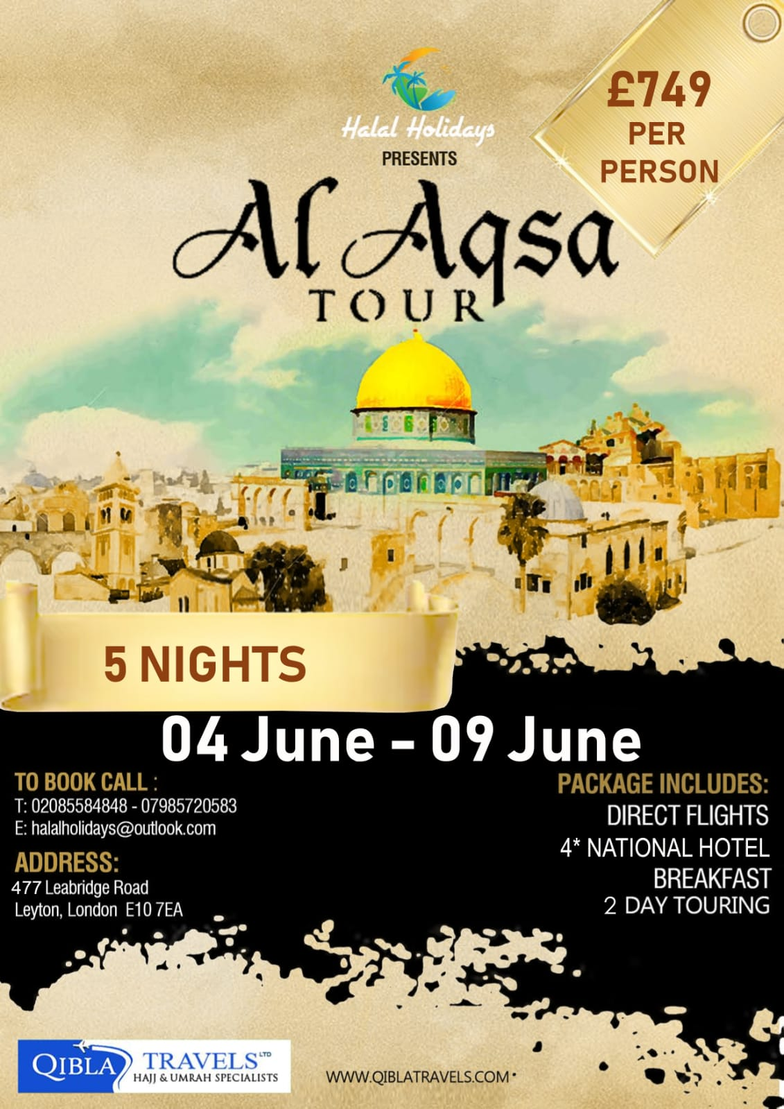 Aqsa Tour from UK